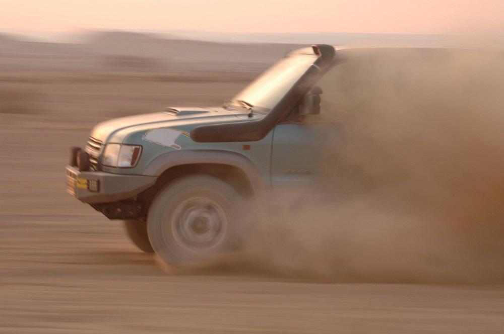Préparation physique pour participer au rallye Dakar